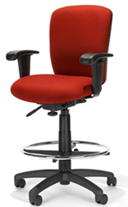 Comfortable RFM Chair with cloth or vinyl upholstery